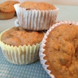 Easter Baking: Carrot Lemon Muffins